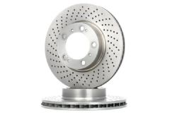 Brake discs Front 330x32mm drilled